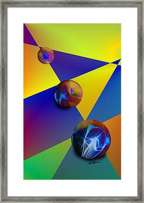 Bocce Framed Print by Anthony Caruso
