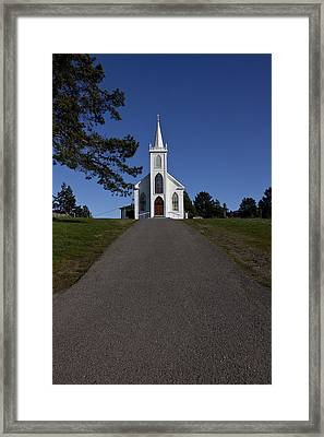 Bodega Church Framed Print by Garry Gay