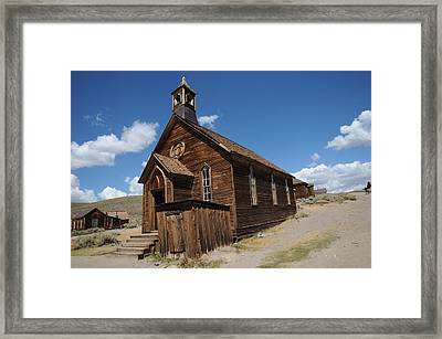 Bodie 011 Framed Print by Earl Bowser