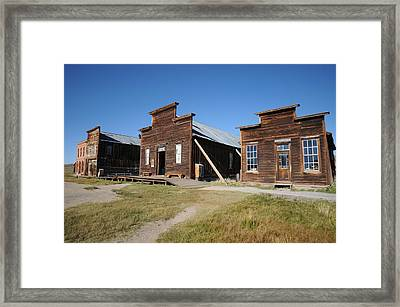 Bodie 03 Framed Print by Earl Bowser