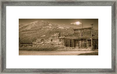 Bodie California Ghost Town Framed Print by Scott McGuire