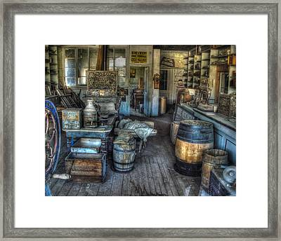 Bodie State Historic Park California General Store Framed Print by Scott McGuire