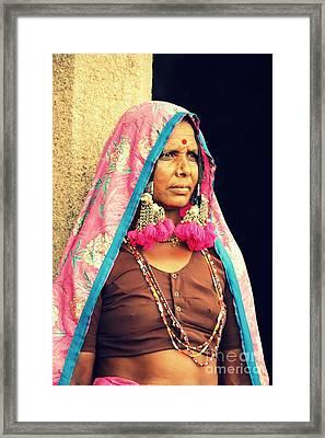 Bohemian Framed Print by Vishakha Bhagat