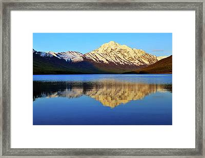 Bold Peak Framed Print by Rick Berk
