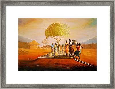 Bolehole Framed Print by Nisty Wizy