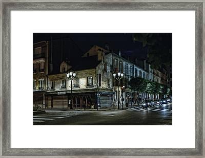 bonne nuit petit Paris Framed Print by Joachim G Pinkawa