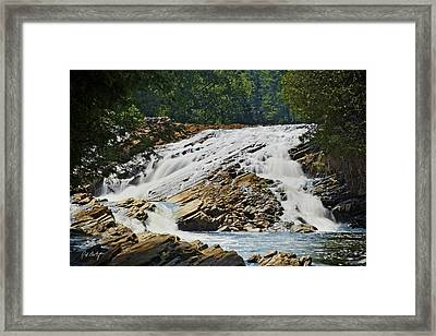 Bonnechere Falls Framed Print by Phill Doherty