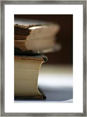 Books Framed Print by Kelly Hazel