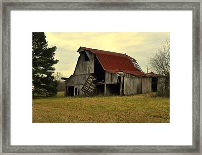 Bootheel Barn Framed Print by Marty Koch