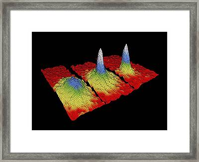 Bose-einstein Condensate Research Framed Print by National Institute Of Standards And Technology