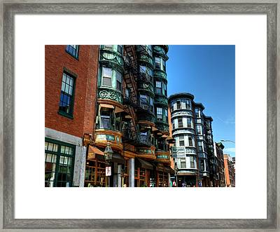 Boston 017 Framed Print by Lance Vaughn
