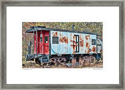 Boston And Maine 413 Framed Print by Richard Bean