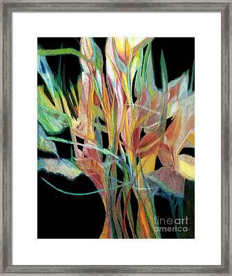 Bouquet Framed Print by Ann Powell