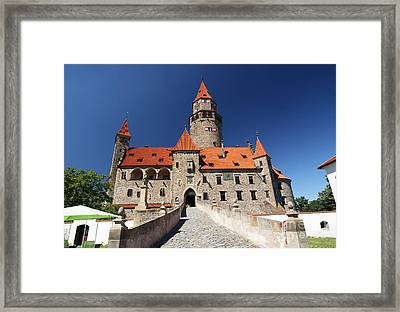 Bouzov Castle Framed Print by Michal Boubin