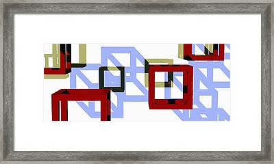 Boxed In Framed Print by Richard Rizzo