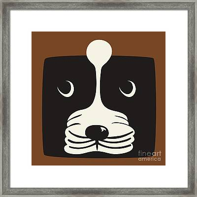 Boxer Framed Print by Laura Brightwood
