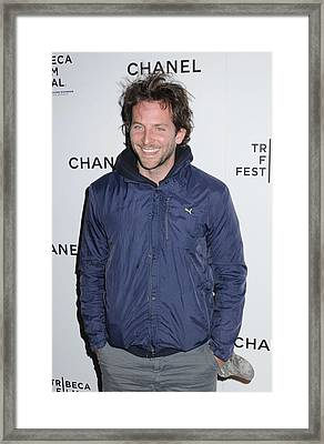 Bradley Cooper At Arrivals For Tribeca Framed Print by Everett