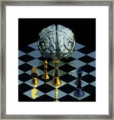 Brainpower Framed Print by Laguna Design
