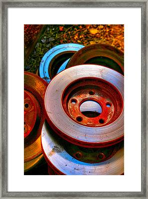 Brakes Framed Print by Terry Finegan