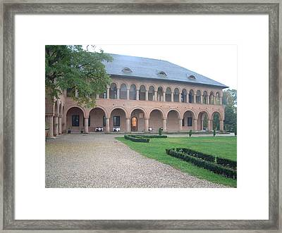 Brancovenesc Castle Romania Framed Print by Mircea Veleanu