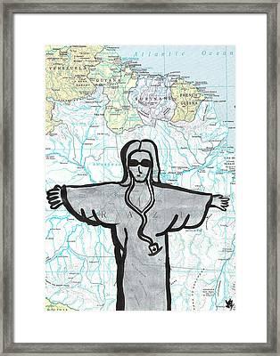 Brazil Framed Print by Jera Sky