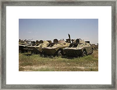 Brdm-2 Combat Reconnaissancepatrol Framed Print by Terry Moore