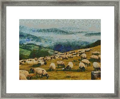 Bread From Heaven Framed Print by Aaron Stokes