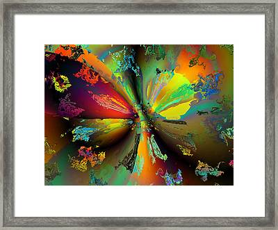 Break Away Framed Print by Claude McCoy