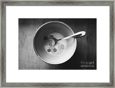 Breakfast Framed Print by Linda Woods