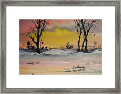 Breaking Dawn Framed Print by James Higgins