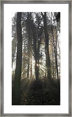 Breakthrough Framed Print by Michael Standen Smith