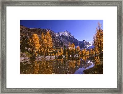 Breathtaking Mountain Scenery, Opabin Framed Print by Bilderbuch