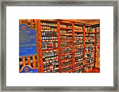 Brewsky Framed Print by Barry R Jones Jr