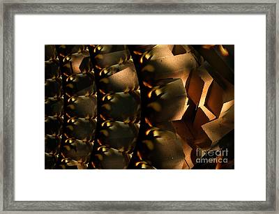 Brickabrack Framed Print by The Stone Age