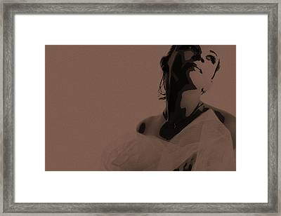 Bride Framed Print by Naxart Studio