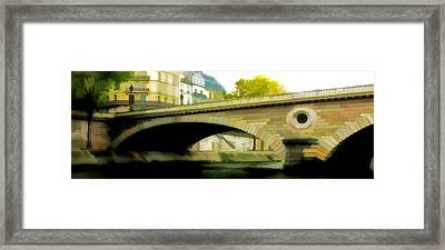 Bridge Framed Print by Photography Art
