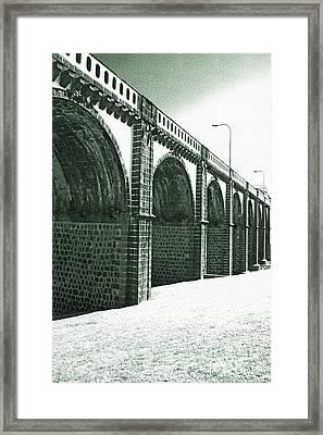 Bridge In Ribeira Grande Framed Print by Gaspar Avila