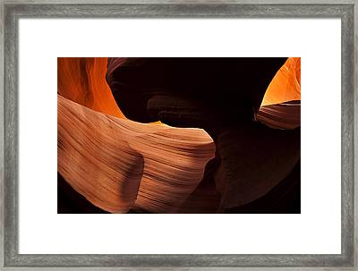 Bridge Of The Light Framed Print by Mike  Dawson