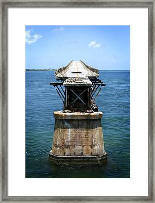 Bridge Out Framed Print by Shane Rees