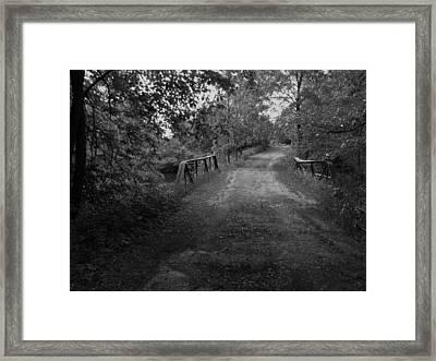 Bridge To My Youth Framed Print by Anna Villarreal Garbis