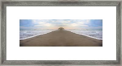 Bridge To Parallel Universes  Framed Print by Betsy C Knapp