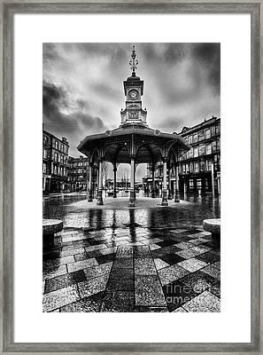 Bridgeton Cross Bandstand Glasgow Framed Print by John Farnan