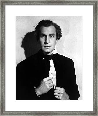 Brigham Young, Vincent Price, 1940 Framed Print by Everett