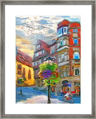 Bright Noon Framed Print by Nikolay Vakatov