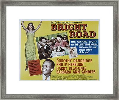 Bright Road, Dorothy Dandridge, Harry Framed Print by Everett