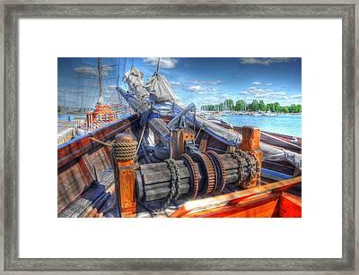 Bristol Fashion Framed Print by Barry R Jones Jr