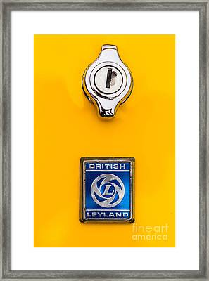 British Leyland Framed Print by Jerry Fornarotto