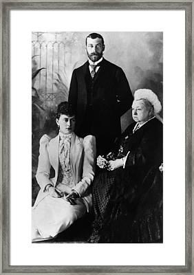 British Royal Family. Mary, Duchess Framed Print by Everett