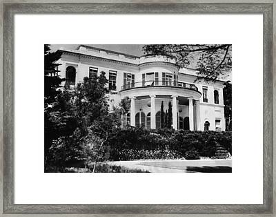 British Royalty. Home Of Duchess Framed Print by Everett