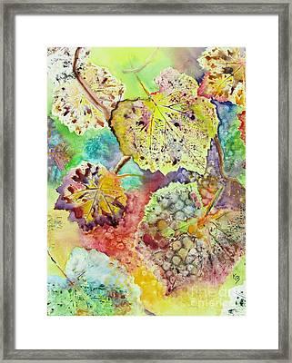 Broken Leaf Framed Print by Karen Fleschler